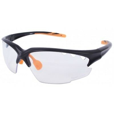 6a02b2c2086 CLEAR LENS CYCLING GLASSES Safety Sports Mens Womens UV400 Sunglasses  Protection