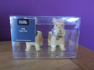 *NEW* George Home Dog Egg Cups