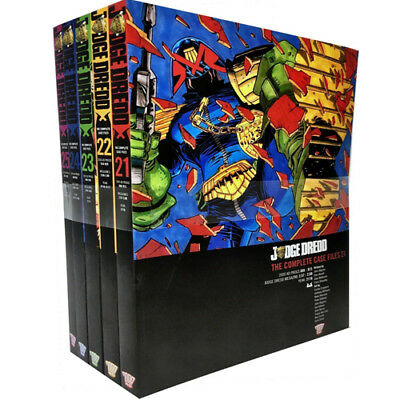 John Wagner Volume 21-25 Books Set Judge Dredd Complete Case Files NEW Paperback