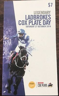 2018 Cox Plate Race Book - WINX Plus Betting Ticket