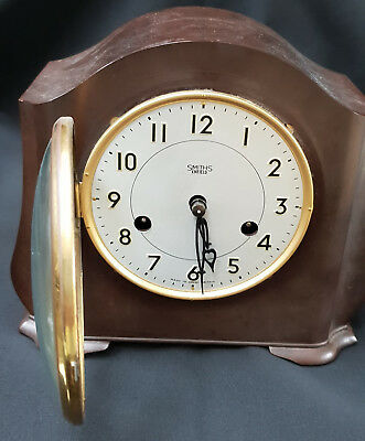 Antique Vintage Collectors SMITHS ENFIELD BAKELITE Chime CLOCK Good condition