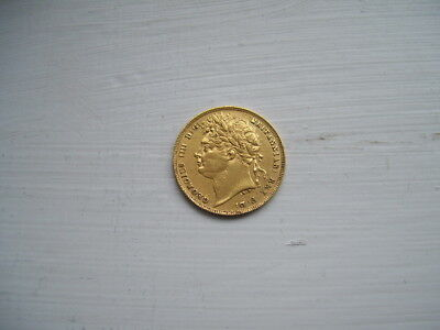 1821 george iv gold sovereign very fine