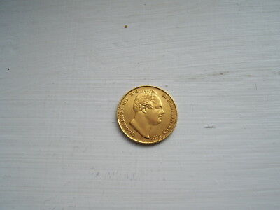 1832 william iv gold sovereign very fine