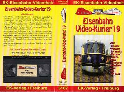 EK Video 5107 - Eisenbahn Video-Kurier 19 (VHS)