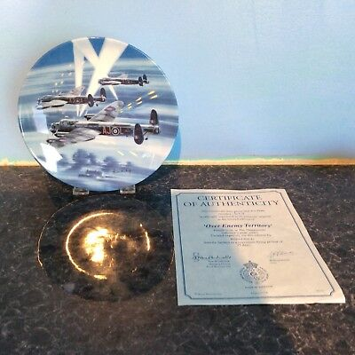 Royal Worcester Dambusters Collecters Plate