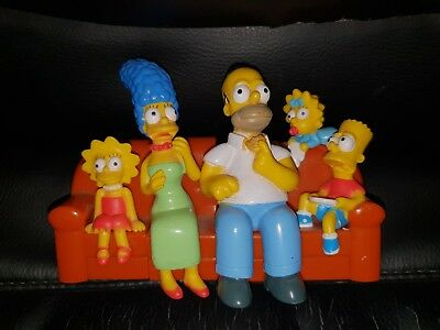 The Simpsons Hungry Jack's 20th Anniversary Couch toy