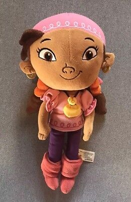 "Jake and the Neverland Pirates Izzy Plush Stuffed Doll 11"", Disney Store"