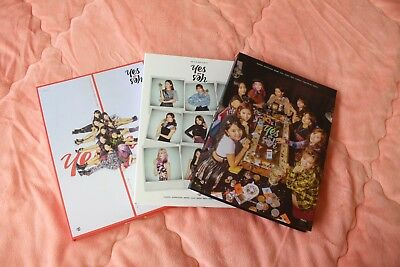 Twice 6th Mini Album Yes or Yes official CD+Photobook A B C Ver. 3 Models