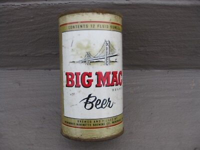 Big Mac Flat Top Beer Can Menominee Marinette Brewing Company