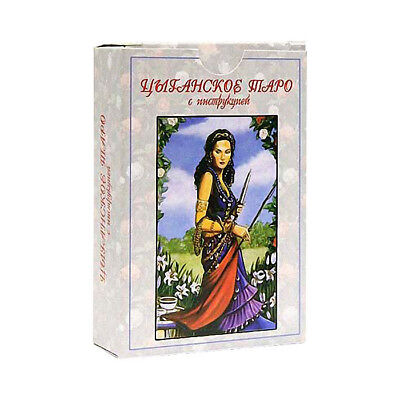 New Cards Deck Russian Gypsy Tarot 78 Collection Rare Deluxe Folklore Souvenir