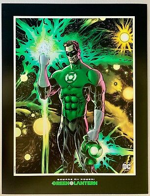Green Lantern Lithograph with Art by Liam Sharp