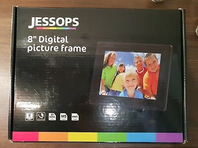 "Brand new Jessops 8"" Digital Picture Frame with new Cruzer USB stick"