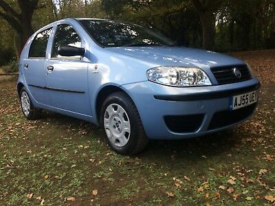 2005 Fiat Punto**ideal Young Drivers Car**genuine 45000 Miles**s.d +1 Lady Owner