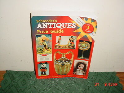 """Schroeder's """"ANTIQUES PRICE GUIDE"""" 1997/Paperback/16th Ed/Best Seller/FREE SHIP!"""
