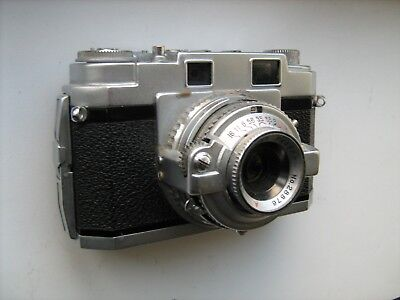 Welmy 35 M3 35mm camera. Classic early 1950's style. For prop or spares