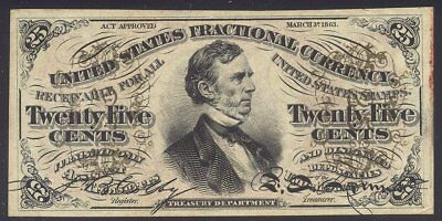U.S. 25c Fractional Currency - Type 176