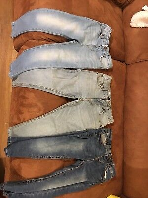 Boys skinny Jeans Age 5 X 3 Pairs