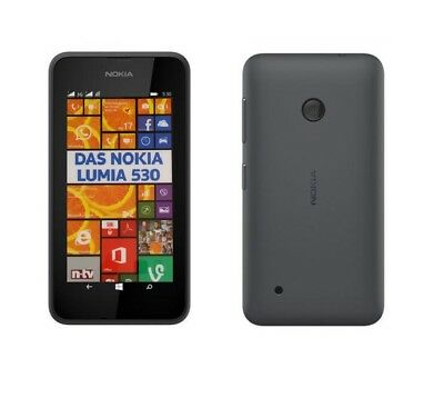 Nokia Lumia 530 in Grey Handy Dummy Attrappe - Requisit, Deko, Ausstellung