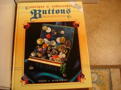 Antique And Collectible Buttons - Identification & Values D. Wisniewski
