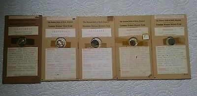 Roman Coins Lot of 5
