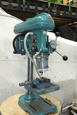 Fobco 16Mm Universal Mt Pilar Drill With Milling Attachment. Excellent.