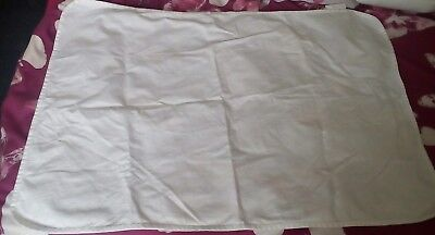 IKEA LEN White Cot Mattress Protector with Waterproof Backing (70x100cm)