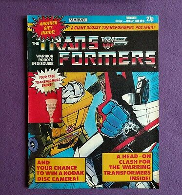 Transformers comic UK issue 15