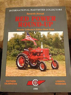 1996 Red Power Round-Up Show Book International Harvester Collectors Lebanon TN