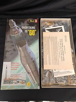 org.70er Revell Mercury Sammler Modell Atlas Booster Friendship 7 NOS in OVP