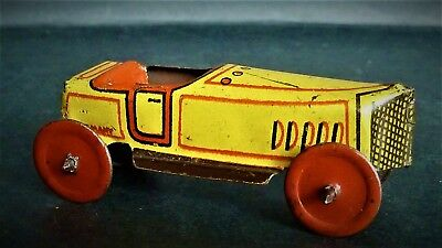 Technofix, Penny toy - Rennwagen - Made in Germany - um 1925 - sehr selten
