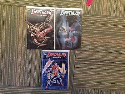 Lot of 3 Deathlok Comics