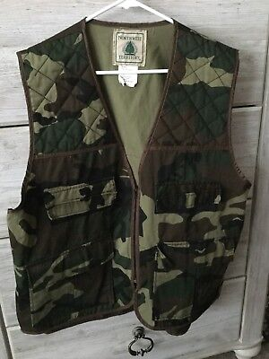 60722083c9579 Northwest Territory Men's Camo Hunting Vest, Green/Brown/Black, Size Xl