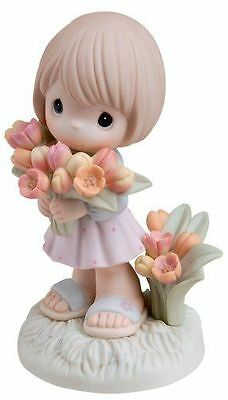 """2007 Precious Moments """"You Color My World With Your Love"""" (Girl) 740002 - MIB"""