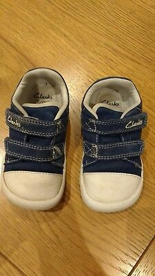 Kids' Clothes, Shoes & Accs. Boys Infant Toddler Clarks Doodles Size 3.5g Boys' Shoes