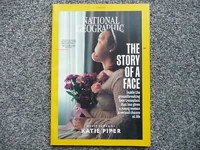 National Geographic Magazine - September 2018 - New - Guest Editor Katie Piper