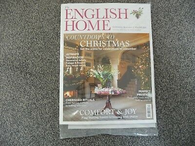 The English Home Magazine (December 2018, Issue 166) Brand New & Still Wrapped