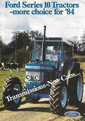 Ford Series 10 Tractor brochure 6/84
