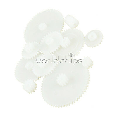 11 Kinds Styles Plastic Gears DIY for All Arduino Module Toy Robot