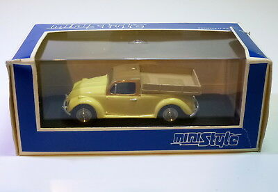 Ministyle # Volkswagen/VW Kever-Beetle / Cox / Käfer Pick-up (1:43)