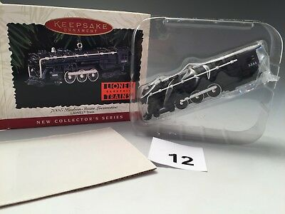 Hallmark Keepsake Ornament - 700E Hudson Steam Locomotive Lionel Train 1996