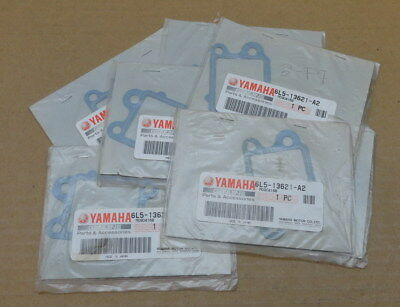 Lot Of 7 New Genuine Yamaha Outboard 3 Hp Gasket Reed Valve Seat 6L5-13621-A2-00