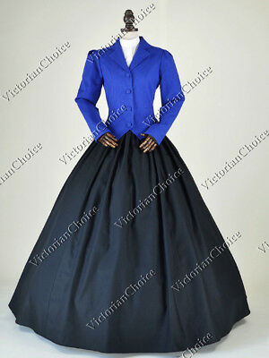 Victorian Dickens Christmas Caroler Carol Dress Riding Habit Theater 166 XXXL