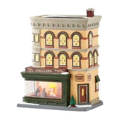 Nighthawks Dept 56 Christmas In The City Village 4050911 art architecture snow A