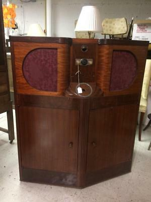 1936 Mills Do-Re-Mi jukebox empty case cabinet for Seeburg or Wurlitzer refit