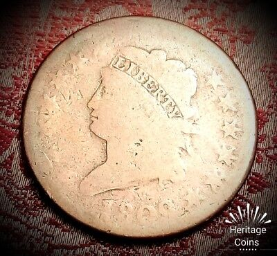 *SCARCE EARLY AMERICAN COINAGE!!* 1809 Classic Head Large Cent US Coin Lot