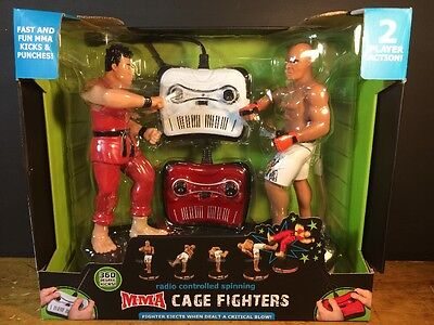MMA Black Series Radio Controlled Spinning Cage Fighters 2015