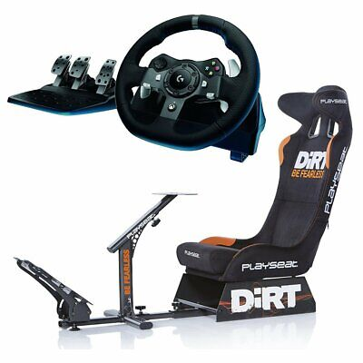 Playseat Evolution Dirt Edition with Logitech G920 Racing Wheel Bundle NEW