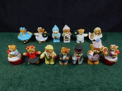 "13 Vintage Enesco ""Lucy & Me"" Bears Children Partying"