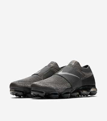Men's Nike Air VaporMax Flyknit MOC Midnight Fog Dark Stucco Size 14 AH3397 013