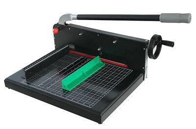 Open Box! Black A4 Size Guillotine Stack Paper Cutter/ Trimmer Heavy Duty